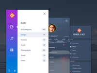 Grade UI Kit: Navigation