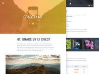 Grade UI Kit: Text & Media