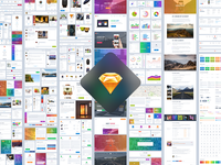 Grade UI Kit for Sketch