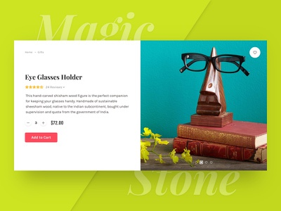 Magic Stone: Product Card #2 freebie free psd photoshop sketch product card ecommerce shop store colorful u kit ui