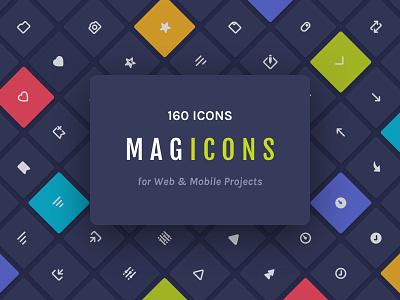 Magicons sketch ai psd svg iconset icons icon