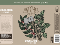 Hatchet Coffee Porter can design