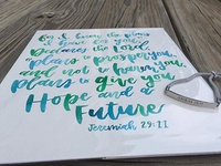 Watercolor Painting - Jeremiah 29:11