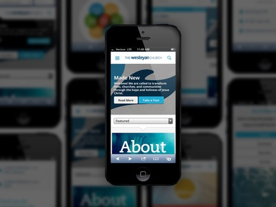 The Wesleyan Church Mobile Website