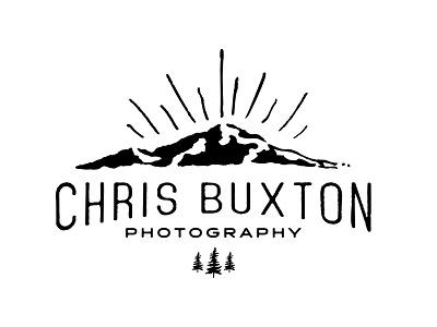 Photography Logo  design logo vintage type hand drawn mountain light tree photo photography