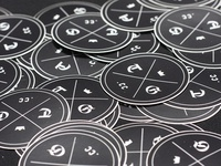 Guild Logo Stickers