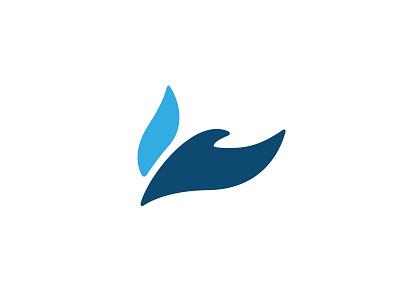 Wesleyan Church Mark smooth ministry fire dove bird icon mark identity brand logo church