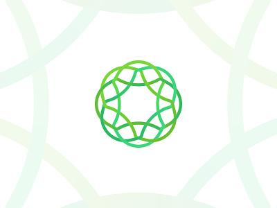 Region Branding chemical biology pattern logo mark branding identity brand state region place