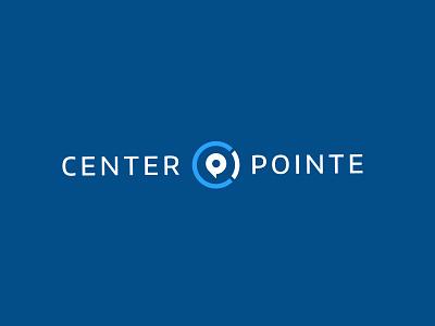 Center Pointe Logo pin design clean type church icon typography branding mark identity brand logo