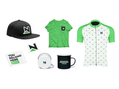 Northern Colorado - Touch Points hat apparel coffee stickers jersey cycling green mountain icon mark branding logo brand identity place brand colorado