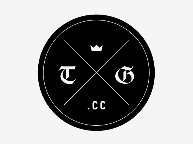 The Guild vintage logo mark modern identity crown black emblem design web website