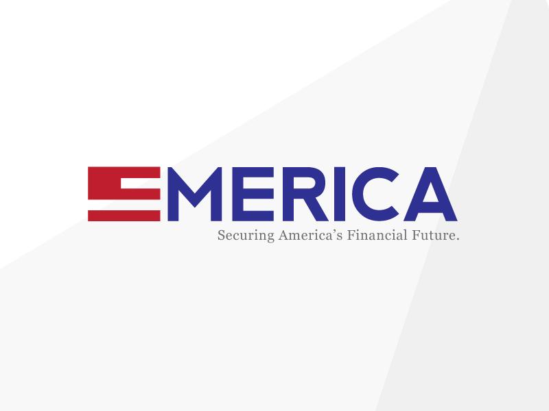 EMERICA - Mark Exploration design mark logo exploration finance emerica