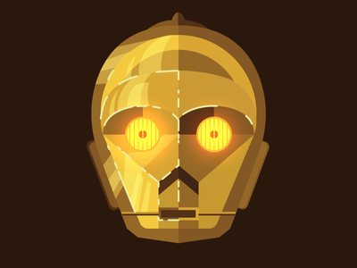 Vector Dailies - #Mirror (Finish) - C3PO