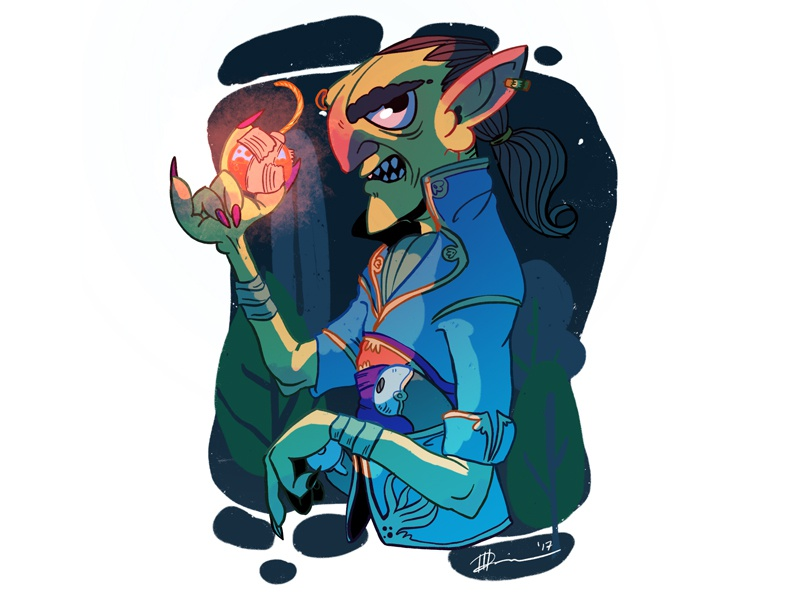 Hobgoblin - Alchemist illustration digital painting dnd dungeons and dragons procreate hobgoblin