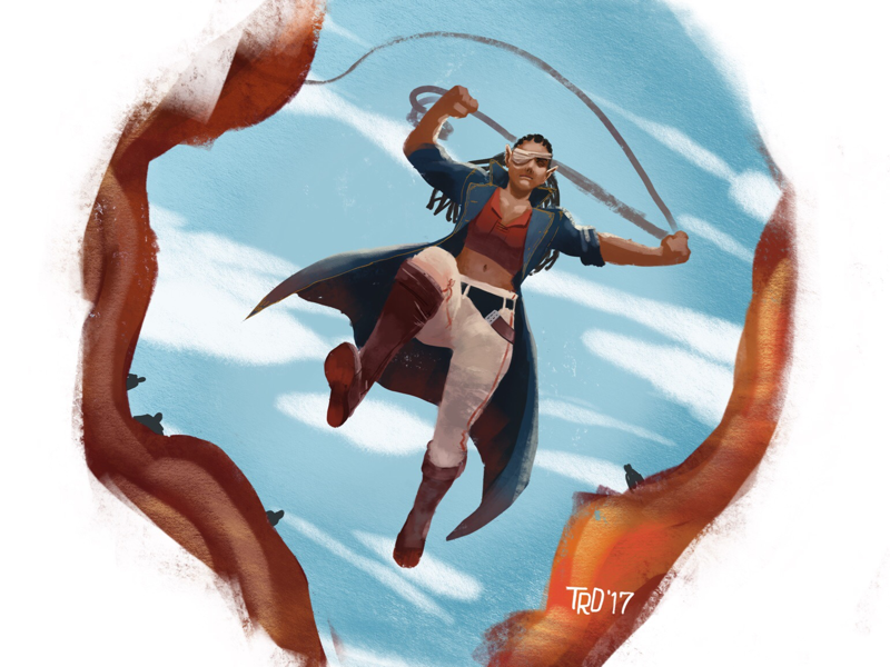 Jump In! digital art procreate illustrations digital