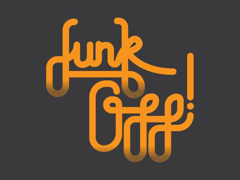 Funk Off shirt design retro funk off vector handlettered type funk