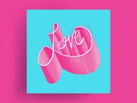 Lettering - Love