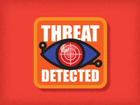 Threat Detected - Badge