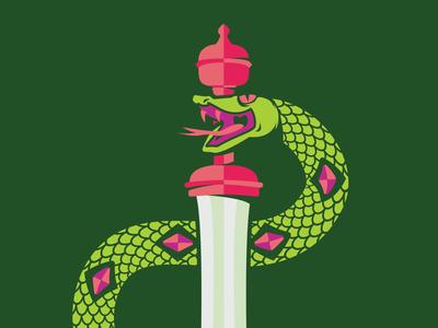 Snake & Septre