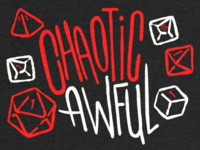 Chaotic Awful - Shirt