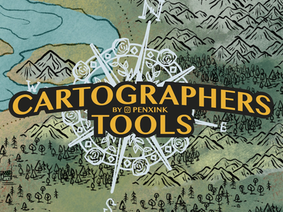 Cartographers Tools - Brush Pack