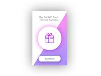 Gift Card Widget