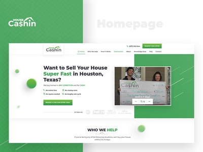 Real Estate Investing Company Website Design