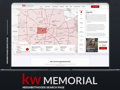 Keller Williams Memorial Neighborhoods Search