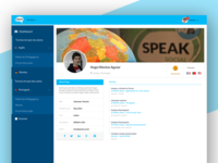 SPEAK profile page