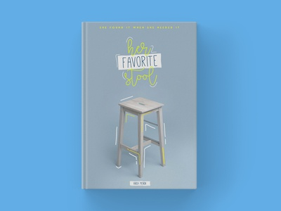 Her Favorite Stool  |  Book Cover Design