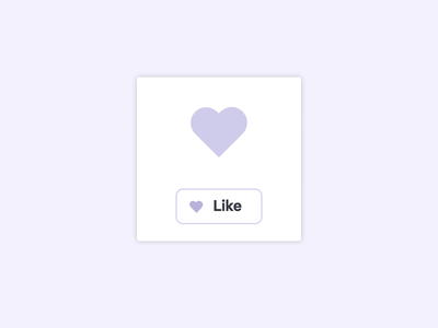 Heart Fold Button microinteractions ui animation waapi web animations javascript css ui flow createwithflow animation