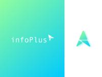 infoPlus - logo design