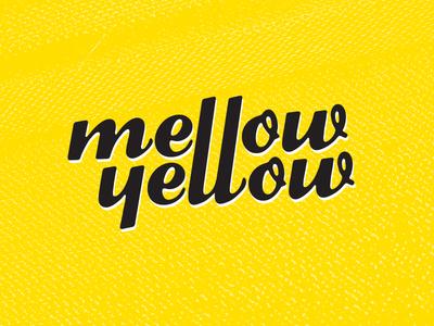 Mellow Yellow Logo logo food truck yellow bright