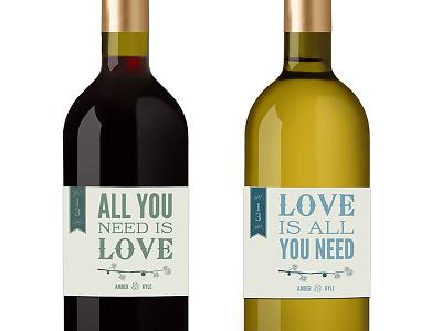 Wedding Wine Label wine label wedding the beatles wedding wine wine bottle