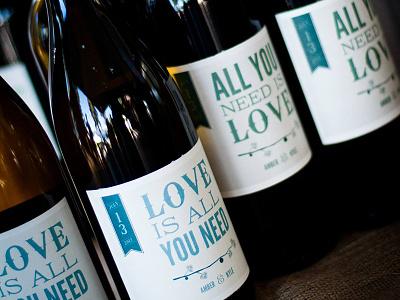 Wedding Wine Bottle Photo wine label wedding the beatles wedding wine wine bottle love is all you need all you need is love