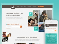 Pets Of The Homeless Homepage
