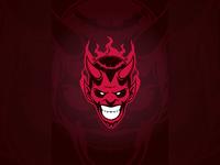 Devil Mascot Logo