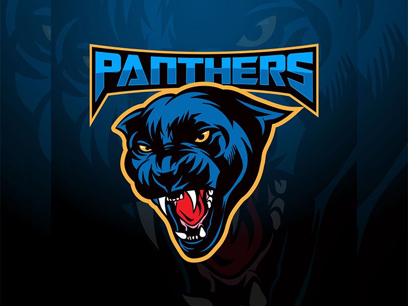 ea339e1117693 Panthers Mascot Logo by Angga Agustiya on Dribbble