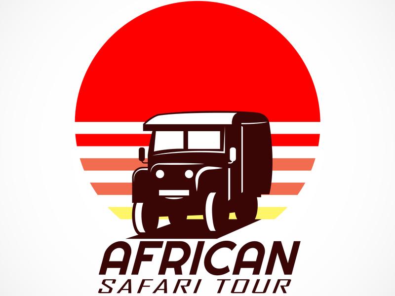 African Safari Logo by Angga Agustiya on Dribbble