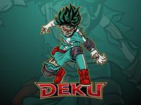 Deku Mascot Logo