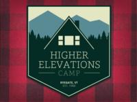 Higher Elevations Camp Badge