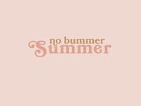 No Bummer Summer