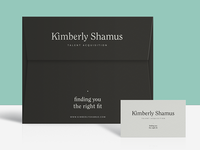 Kimberly Shamus Identity Design — Collateral