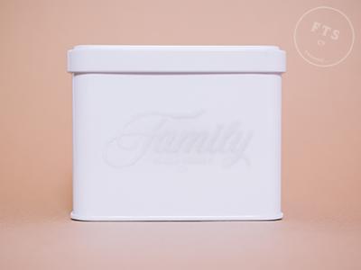 Family Trade Secret Tin Application logo identity design branding