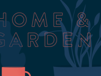 Home & Garden Illustration WIP