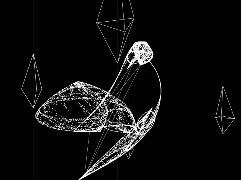 Chaos p5js vector photoshop pcd attractor processing art mathart generative art designer