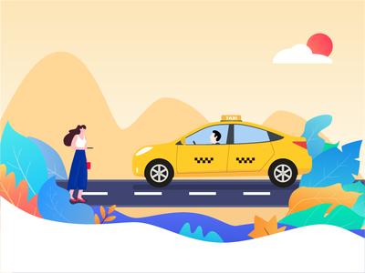 Hail a taxi