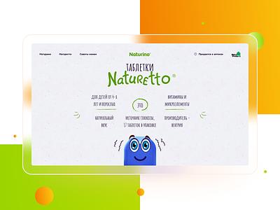 Naturino web ux icon typography illustration ui flat design