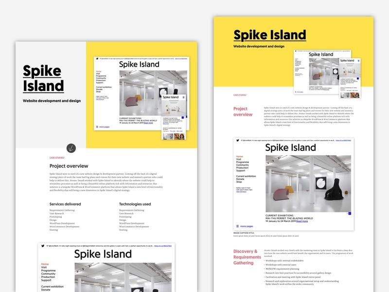 Case studies page exploration agency website editorial layout editorial design case studies ui design flat branding typography