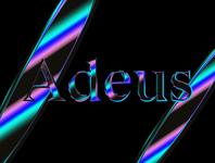 Iridescent type gradient glitch futuristic typographic type iridescent holographic metalic